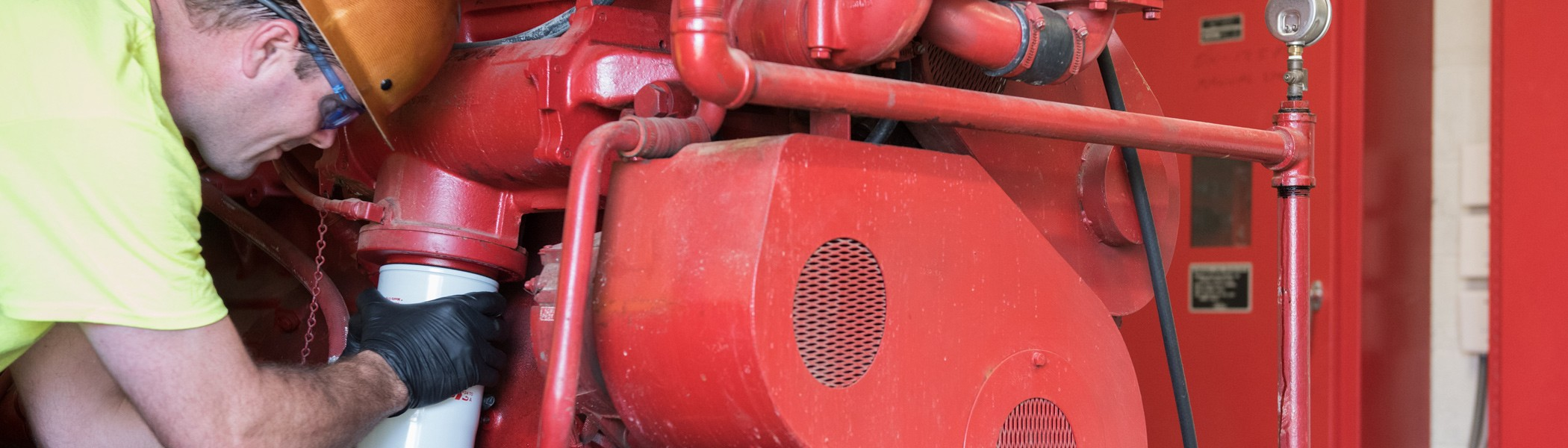 Fire pump services, fire pumps, fire pump installation
